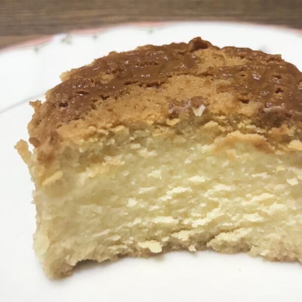 ローソンのバスク風チーズケーキ