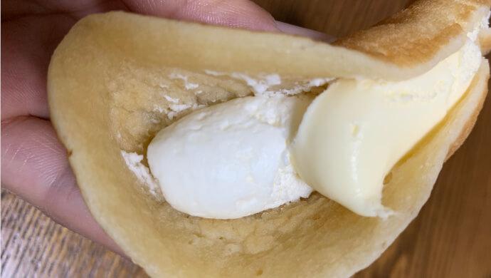 セブンイレブンのレアチーズどらの中身